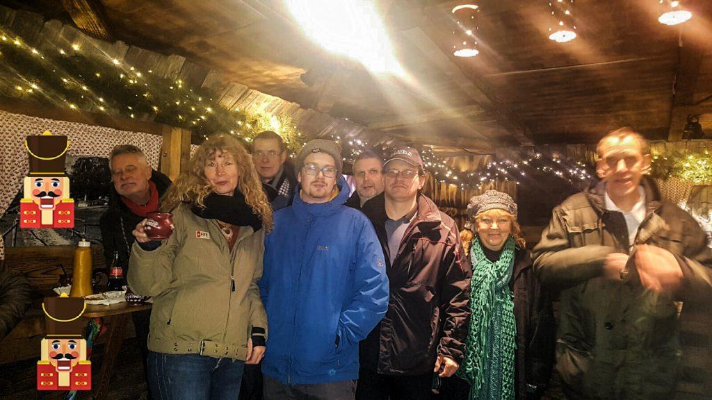 Rattenfänger Spielgruppe auf dem Weihnachtsmarkt Hameln